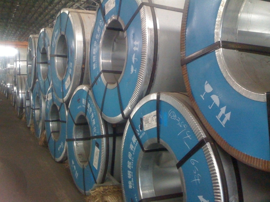 SGS Approved Metal Steel Material Galvanized Steel Coil Width 1215mm