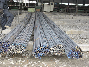 DIN GB ISO JIS Hot Rolled 12mm Deformed Steel Bars for Bridge Construction