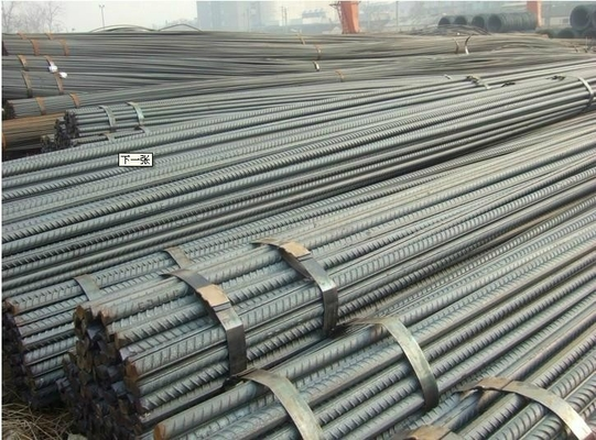 High Yield Steel Bar Steel Reinforcement Rods For Construction / Building