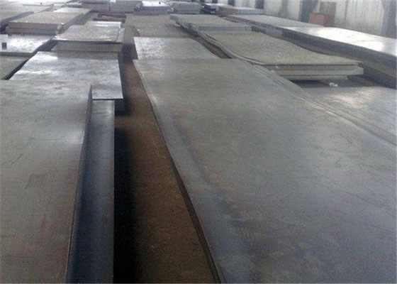 Custom Made Size Hot Formed Steel / High Strength Steel Floor Plate