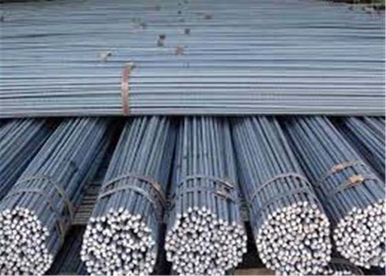 AISI, ASTM HRB 400 Steel Rebar 6mm / Iron Rods For Construction