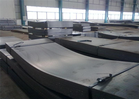 High Hardness Hot Rolled Steel Sheet For Fabricating Machinery Cement Machinery