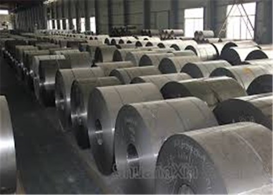 Good Decoration Effect Mild Steel Coil , Cold Rolled Steel Strip Coil